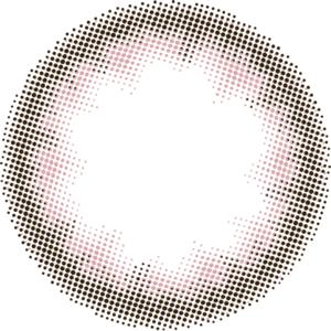 デイリーベーシックブラウン:レンズ画像