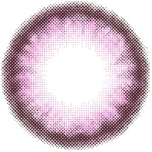 クリームピンク:レンズ画像