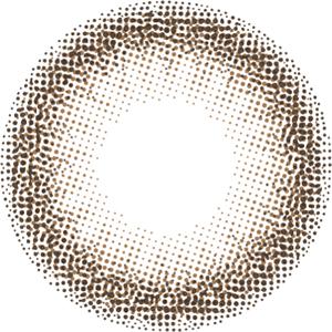 ピュアブラウン:レンズ画像