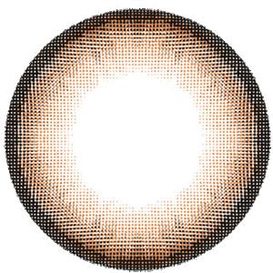 グロッシーブラウン:レンズ画像