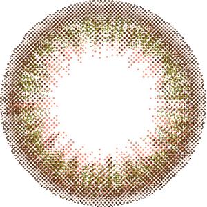 シフォンオリーブ/DIA14.2mm:レンズ画像