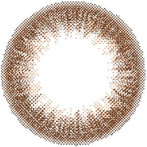 スウィートブラウン/DIA14.5mm:レンズ画像