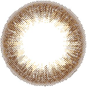 ヌーディーブラウン/DIA14.5mm:レンズ画像