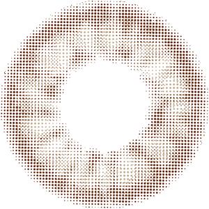 スモーキーベージュ:レンズ画像