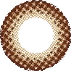 O-6 オーブブラウン:レンズ画像