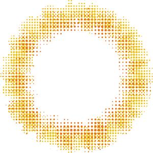リアルブラウン:レンズ画像
