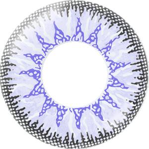姫紫陽花:レンズ画像