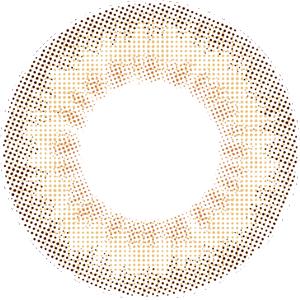 シュガーブラウン:レンズ画像