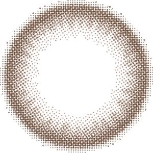 チョコブラウン:レンズ画像