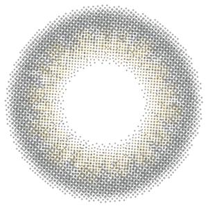 スモーキーアッシュブルー(妖艶フェレット):レンズ画像